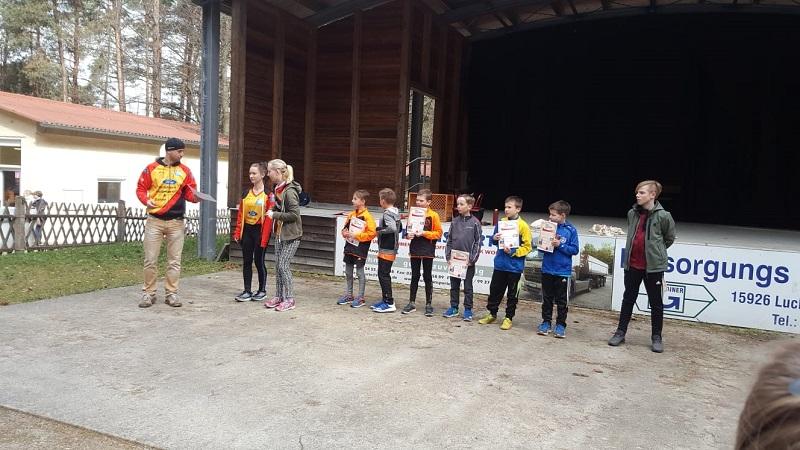 Siegerehrung Teufersteinlauf Gehren 2019