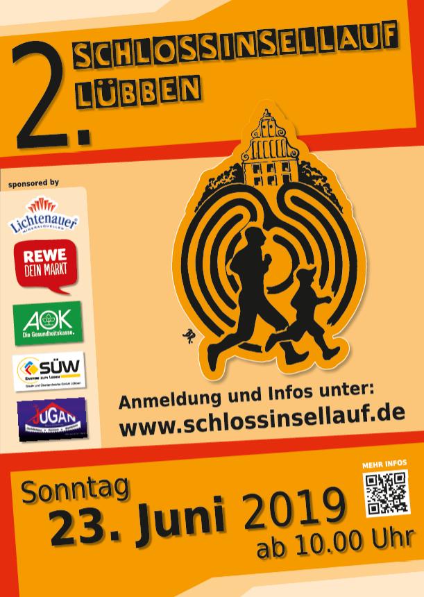 Plakat Schlossinsellauf 2019