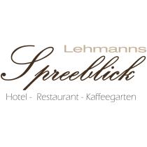 Logo des Sponsors Spreeblick Lübben Lehmanns Hotel, Restaurant und Kaffeegarten